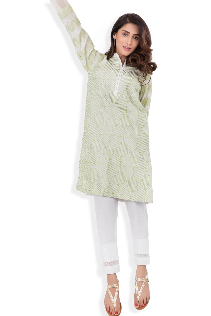 Graceful Embroidered Off White 1 Piece Stitched Pret By Sapphire