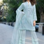 Stylish Ferozi Three Piece Pakistani Cotton Suit By Gul Ahmed Unstitched Dress Online Shopping In Pakistan