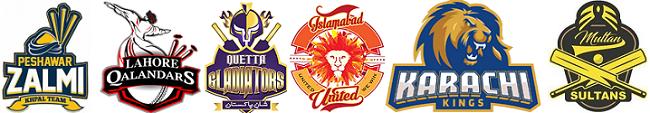 PSL Teams 2017