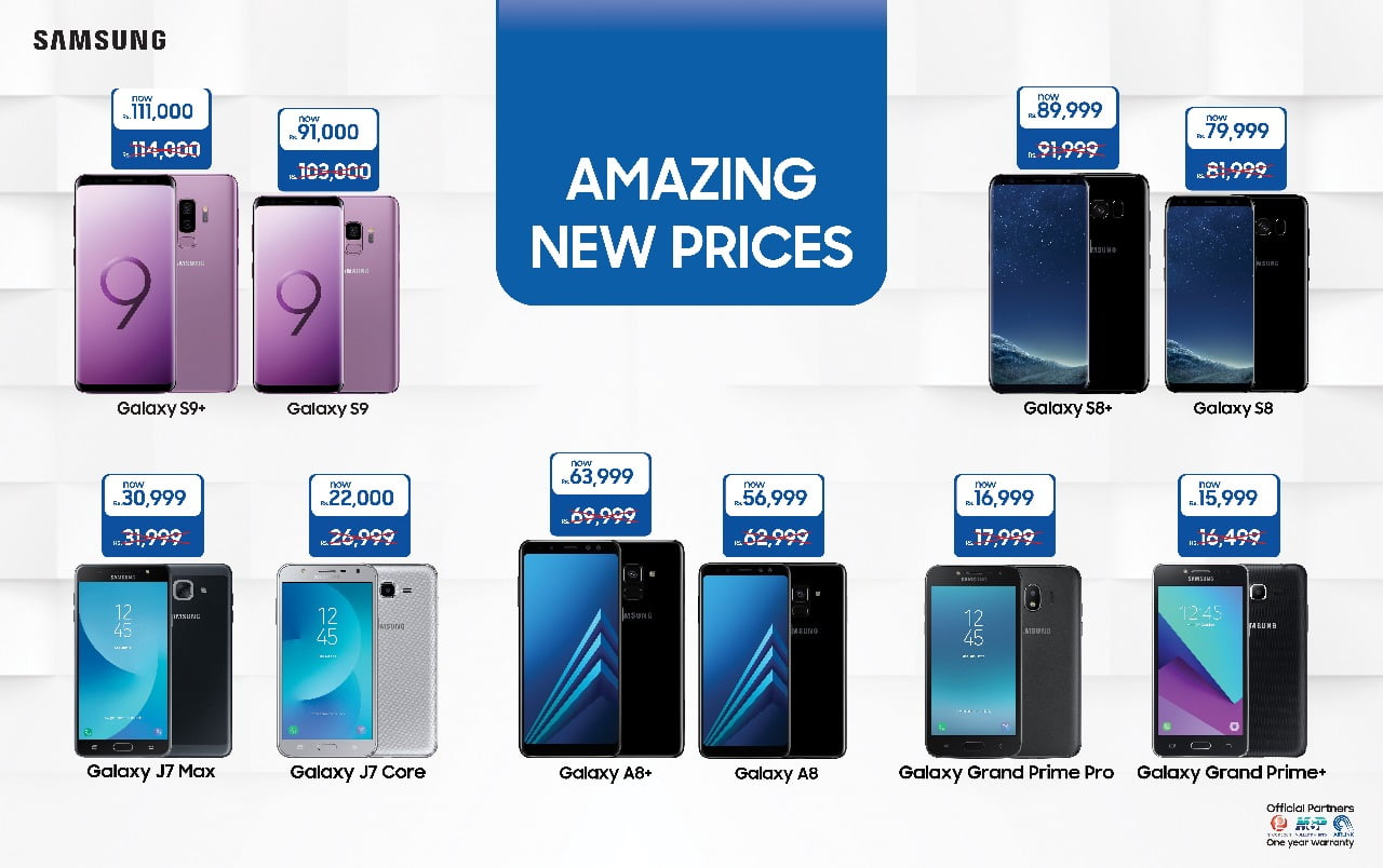 Samsung Official Rate Card