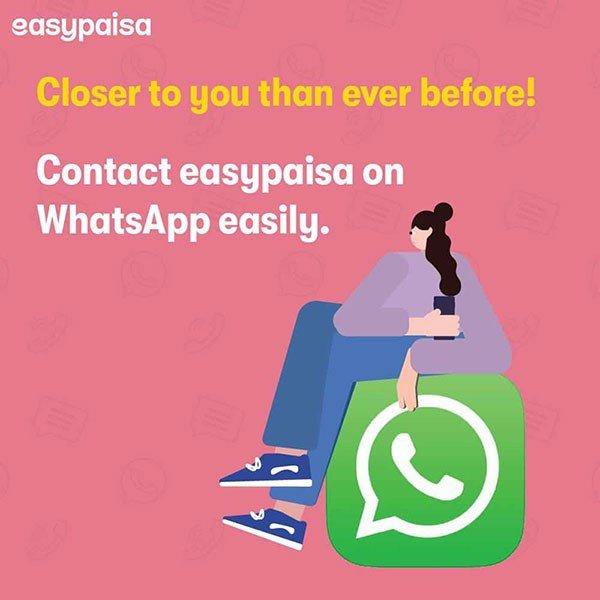 Easypaisa WhatsApp Channel