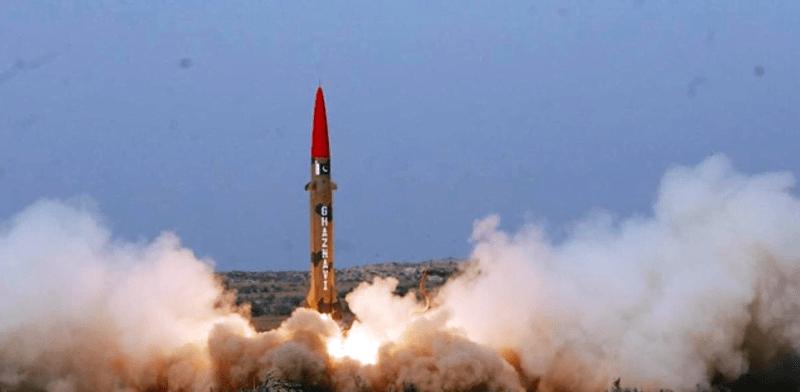 Ghaznavi-ballistic-missile