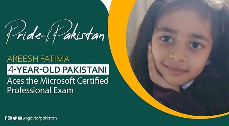 Areesh Fatima – Pride of Pakistan