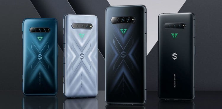 4 Pro Gaming Phones & Xiaomi Black Shark 4 Launched With 120W Low Price & Fast Charging