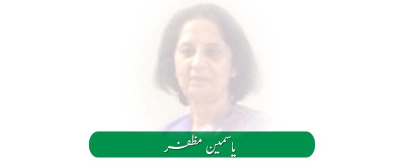 yasmeen-muzafar columnist