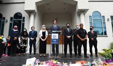 متاثرہ خاندانوں کی آنکھوں میں آنکھیں ڈال کر کیسے کہہ سکتے ہیں کہ اسلاموفوبیا حقیقت نہیں ہے؟ جسٹن ٹروڈو