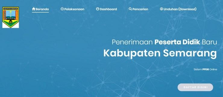 Pengumuman Hasil Pendaftaran PPDB HASIL PPDB SMP Kab Semarang 2020/2021.