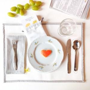 Montessori alátét receptekkel szíves