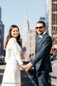 Carolina and Javi in NYC