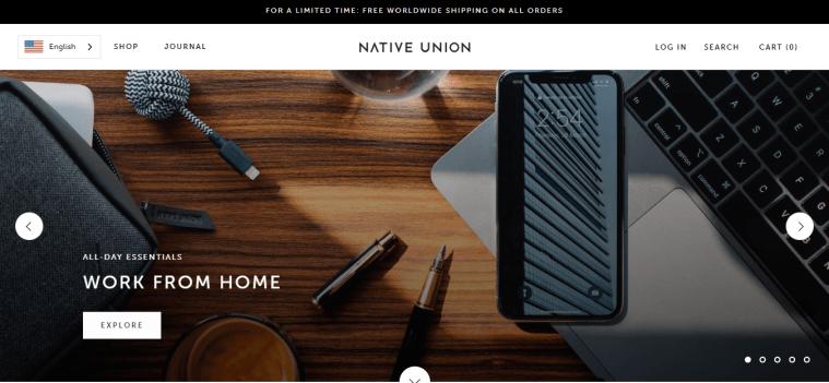 עיצוב חנות מסחר אלקטרוני