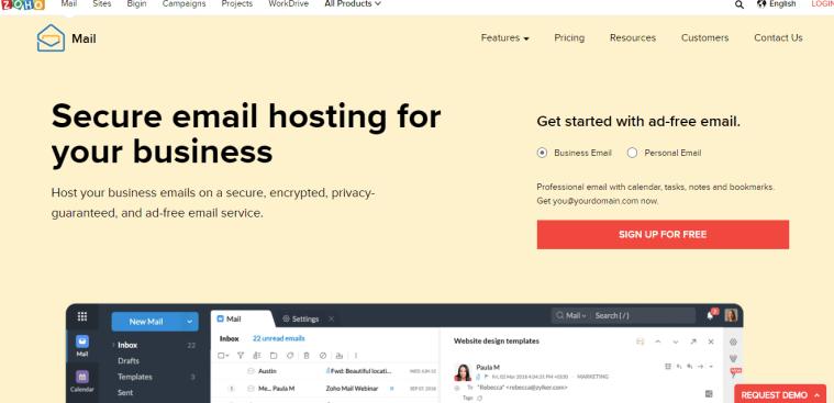 זוהו אימייל לעסקים