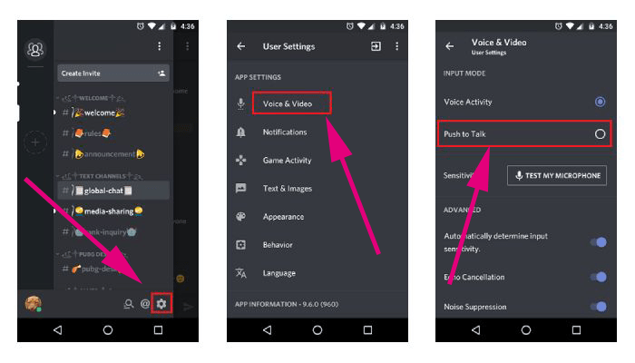 Push to Talk Discord on Smartphone