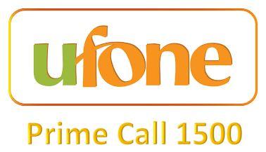 Ufone Prime Call 1500