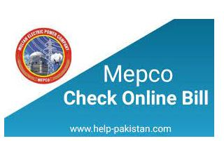 How to check MEPCO Bill Online