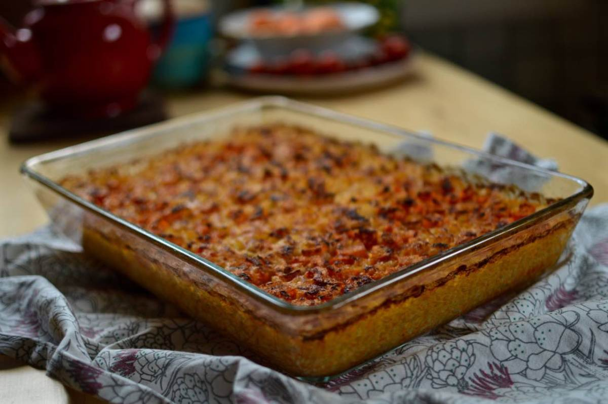 My Macedonian kitchen: vegetarian oven baked rice