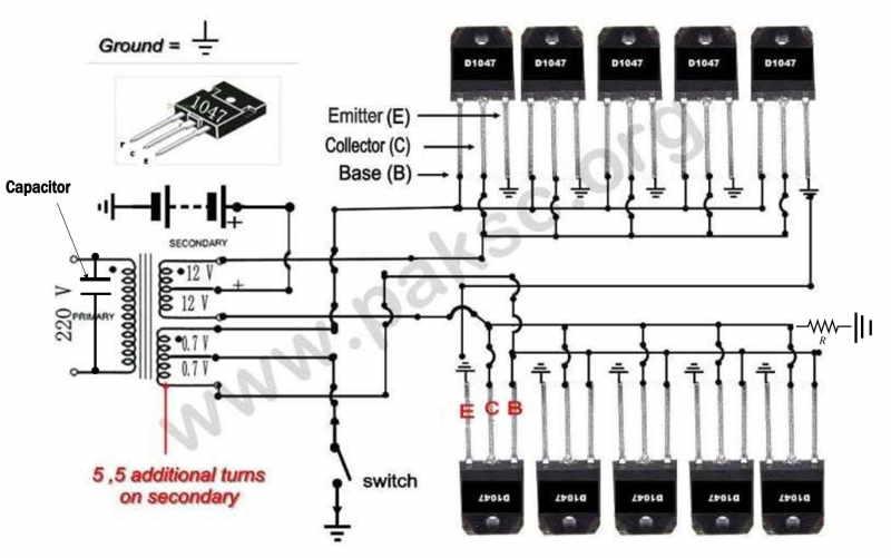 500 Watt 12 VDC to 220 VAC Power Inverter (UPS