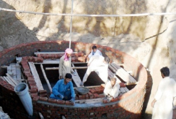 Story about biogas plant in flood hazard area of Pakistan By