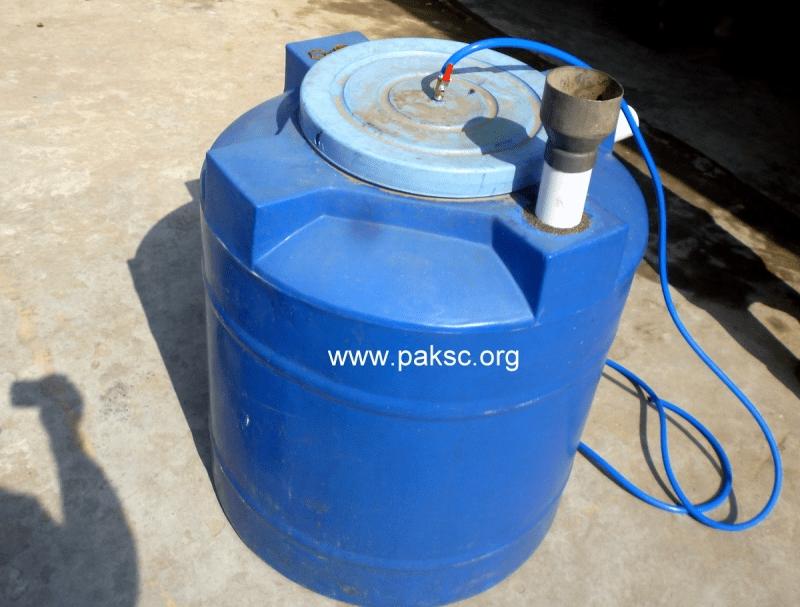 Experimental Homemade Biogas Plant