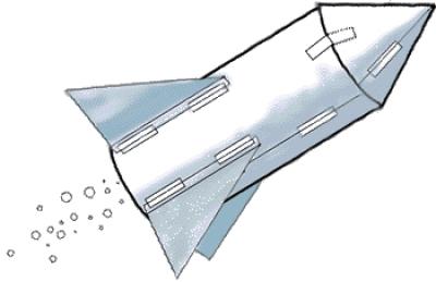 Mini-rocket launch