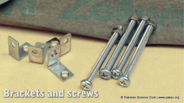 Foot screws and squares