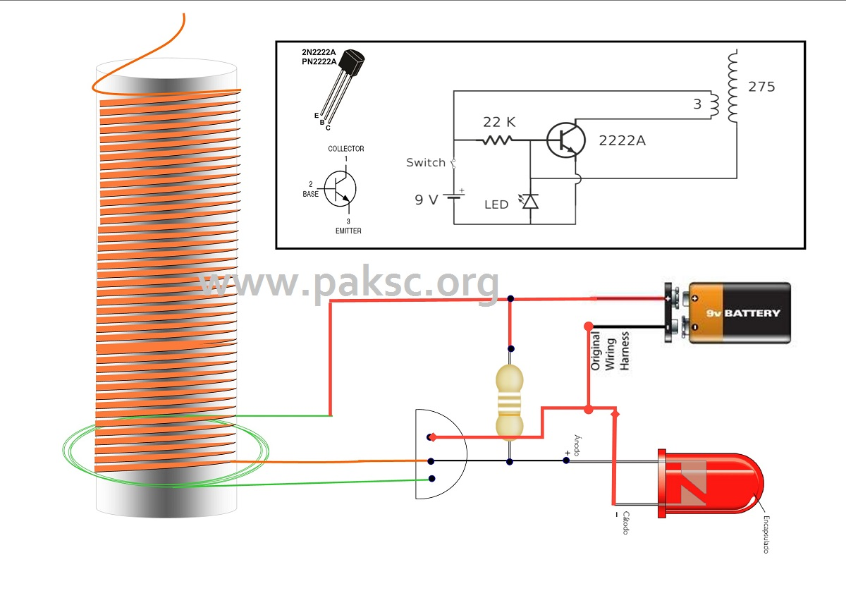 how to make simple tesla coil urdu do science