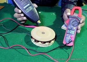 "ac generator ""Permanent magnet alternator"" from Hard disk magnets"