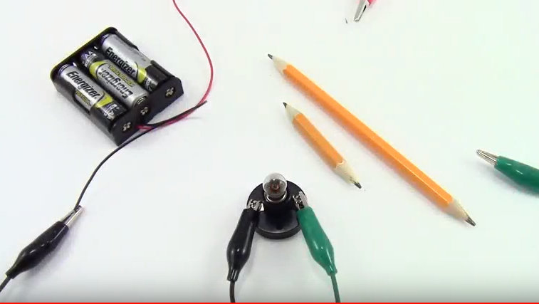 Diy resistor from lead pencil