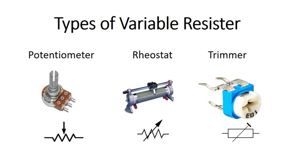 type of variable resistor