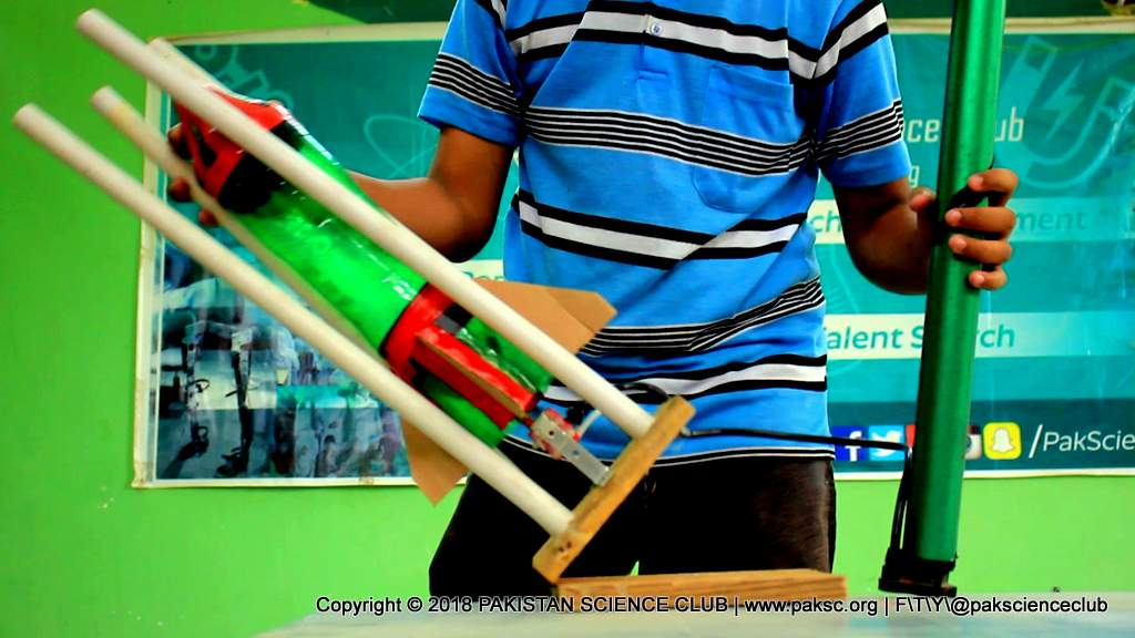 Make Water Rocket Launcher