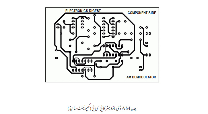 modern AM D modules ka PCB (component side)
