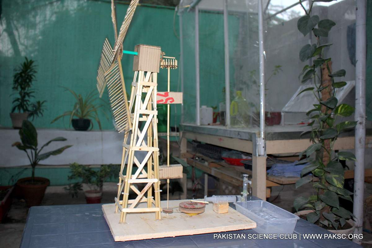 Small windmill water pump design and construction - DIY