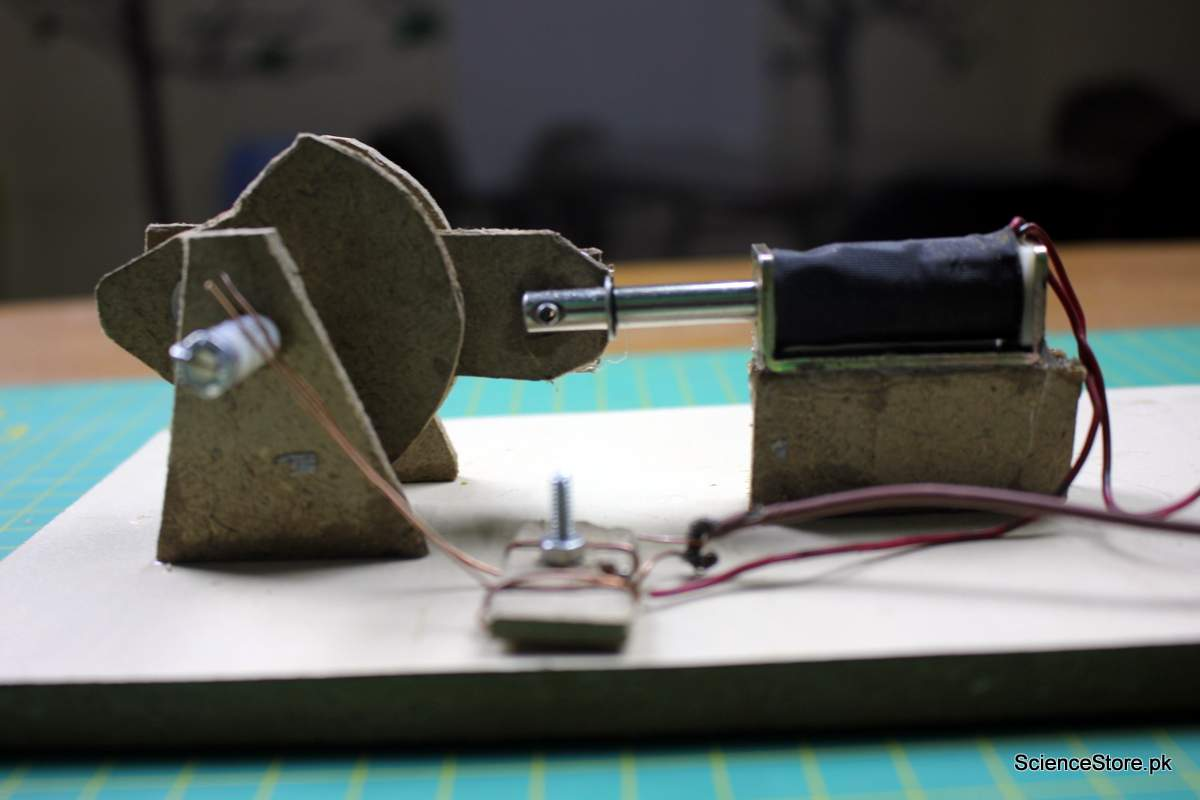 How to Make Solenoid Engine - DIY Science Projects