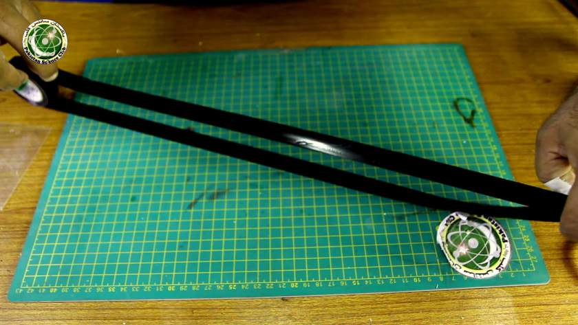 Make a belt with electric tape.