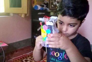vibrating robot