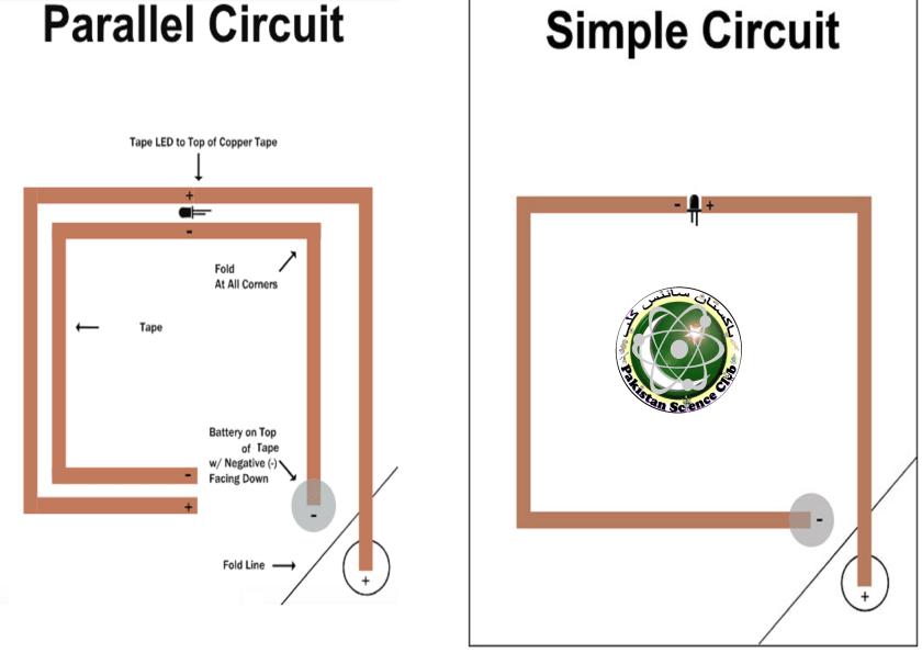 paper circuit template