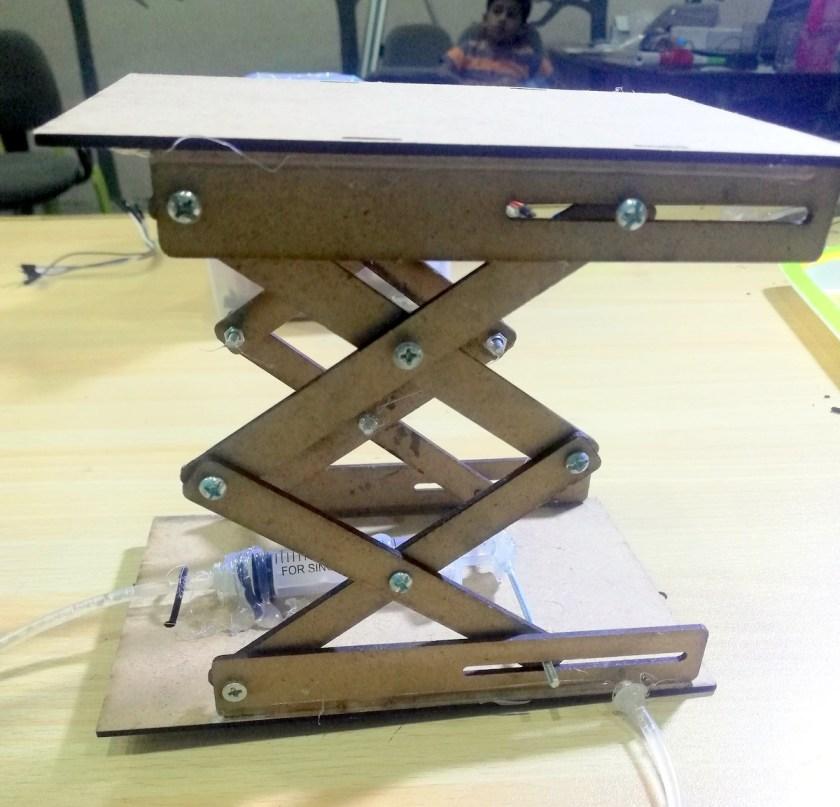Project # 7 Hydraulic Scissor Lift
