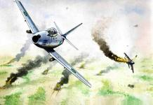 Pakistan Air Force Draws The First Blood