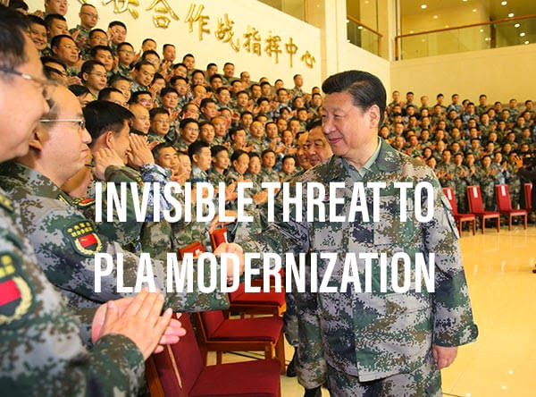 The Invisible Threat to China's Military Modernization- Corruption