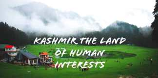 Kashmir: Land of Human Interests