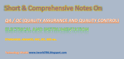 Instrument Cable Specifications and Cable Installation. Color Code of Instrument Cables. Type of Thermocouple.