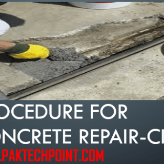Procedure for Concrete Repair
