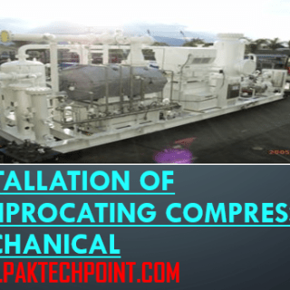 installation of reciprocating compressor