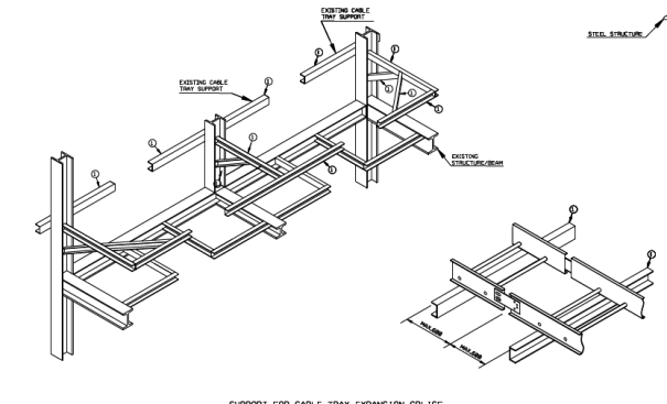PROCEDURE FOR INSTRUMENT BRANCH CABLE TRAY INSTALLATION