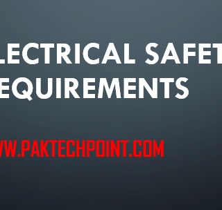 ELECTRICAL SAFETY REQUIREMENTS