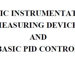 BASIC INSTRUMENTATION MEASURING DEVICES AND BASIC PID CONTROL DOWNLOAD