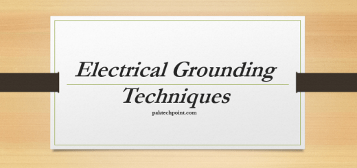 Electrical Grounding Techniques