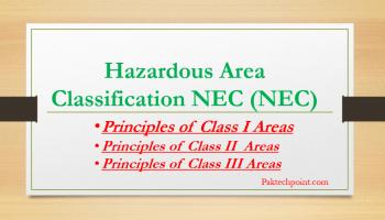 Hazardous Area Classification NEC
