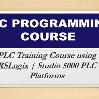 PLC Training Course using RSLogix | Studio 5000 PLC Platforms