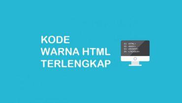 kumpulan kode warna html lengkap