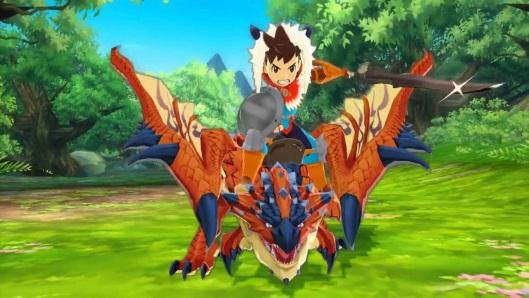 Hasil gambar untuk Monster Hunter Stories